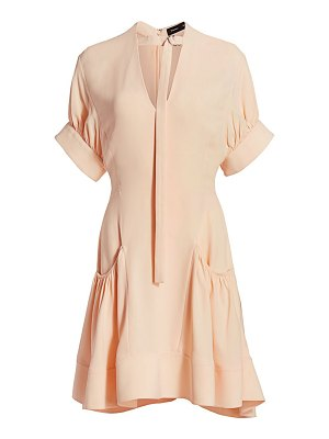 Proenza Schouler gathered crepe dress