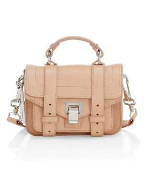 Proenza Schouler micro ps1 leather satchel