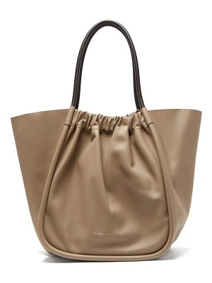 Proenza Schouler ruched xl leather tote bag