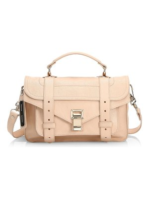Proenza Schouler tiny ps1 leather satchel