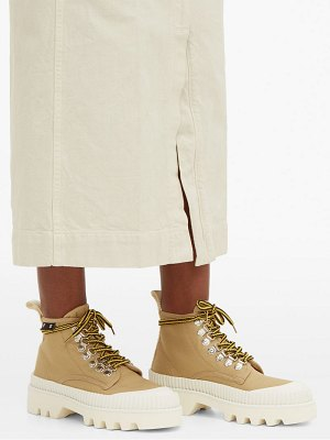 Proenza Schouler tread-sole high-top canvas trainers