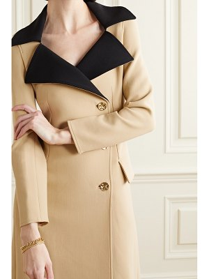Proenza Schouler two-tone double-breasted wool-blend coat