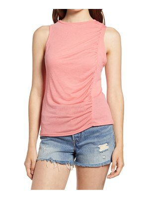 Project Social T ruched detail tank