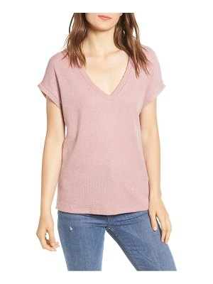 PST by Project Social T textured v-neck tee