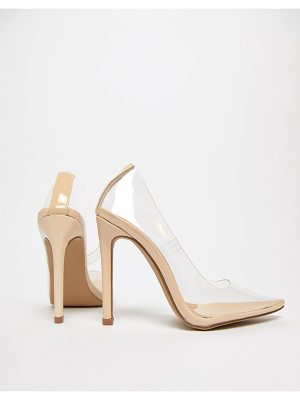 Public Desire Extra clear pumps