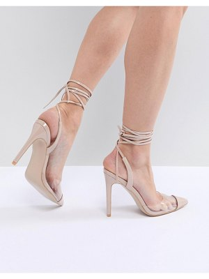 Public Desire martini clear detail pumps