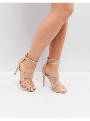 Public Desire mesh caged heeled sandals
