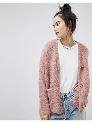 Pull & Bear button front cardigan