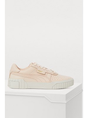 PUMA Cali Fashion embossed leather sneakers