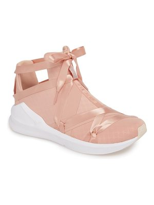 PUMA fierce rope satin en pointe high top sneaker