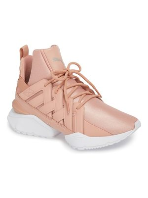 PUMA Muse Echo Satin En Pointe High Top Sneaker