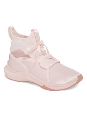 PUMA phenom satin ep high top training shoe