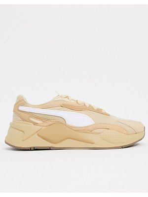 PUMA rs-x3 bonfire sneakers in tan