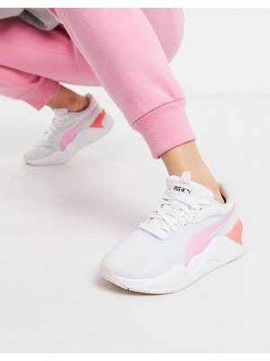 PUMA rs-x3 plas tech sneakers in pink