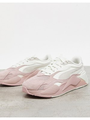 PUMA rs-x3 sneakers in pink cream ombre