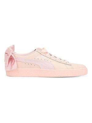 Puma Select Basket bow leather sneakers