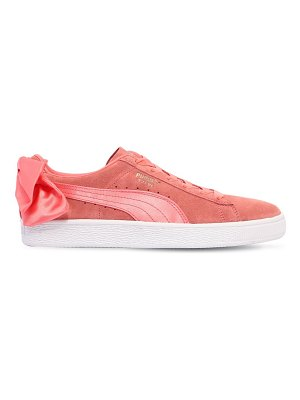 Puma Select Bow suede sneakers