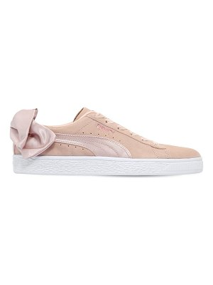 Puma Select Bow val suede sneakers