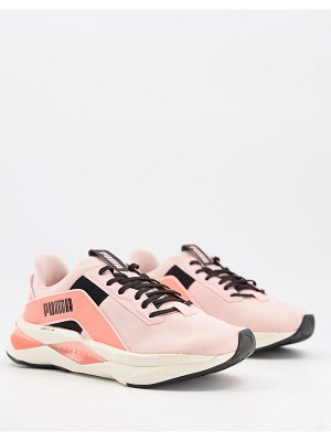 PUMA training xt geo pearl sneakers in pink