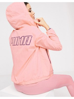 PUMA wind jacket in pink