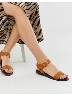 QUPID two part flat sandals