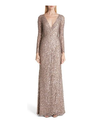 Rachel Gilbert trixie sequin gown