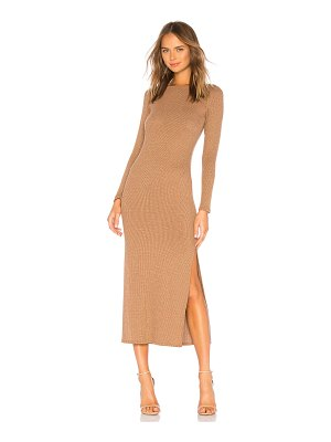 Rachel Pally Metallic Rib Joan Sweater Dress