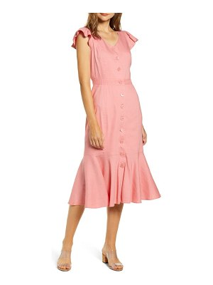 Rachel Parcell button down midi dress