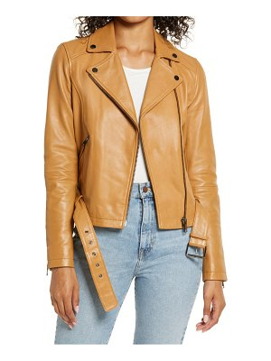 Rachel Parcell leather moto jacket