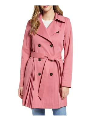 Rachel Parcell pleated trench coat