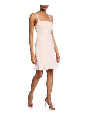 Rachel Zoe Darcie Square-Neck Sleeveless Cocktail Dress