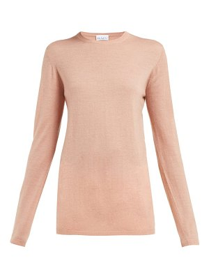 RAEY long line fine knit cashmere sweater