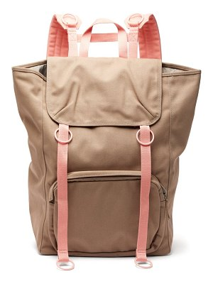 Raf Simons x Eastpak two tone canvas backpack