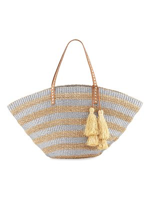 RAFE Sunni Large Straw Beach Tote