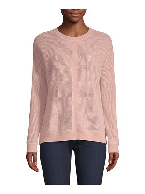 Raffi Cashmere cashmere cable knit sweater