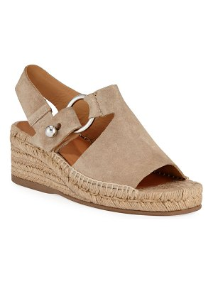 Rag & Bone Arc Suede Wedge Espadrilles