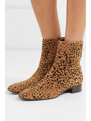 Rag & Bone aslen animal-print suede ankle boots