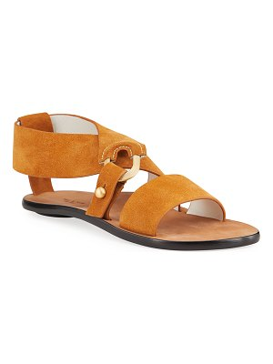 Rag & Bone August Suede Flat Sandals