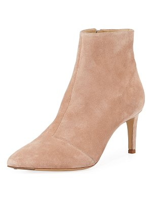 Rag & Bone Beha Suede Zip-Up Booties