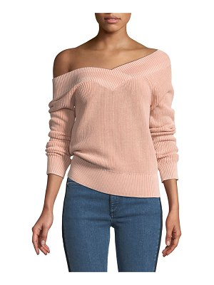 Rag & Bone Dawn Off-the-Shoulder Knit Sweater