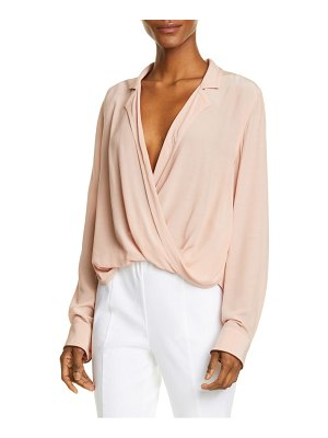 Rag & Bone dean wrap front shirt