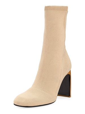 Rag & Bone Ellis Slim-Knit Ankle Boot