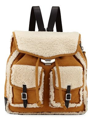 Rag & Bone Field Shearling and Suede Backpack