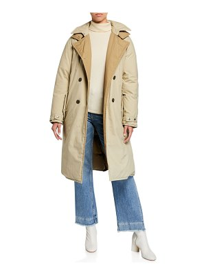 Rag & Bone Marcelle Double-Breasted Puffer Coat