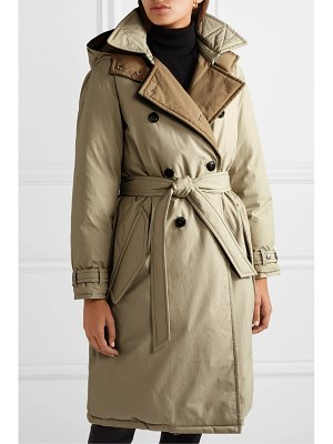 Rag & Bone marcelle reversible belted padded cotton-canvas coat