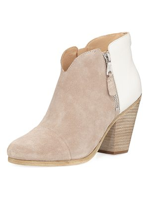 RAG & BONE Margo Colorblock Zip Bootie