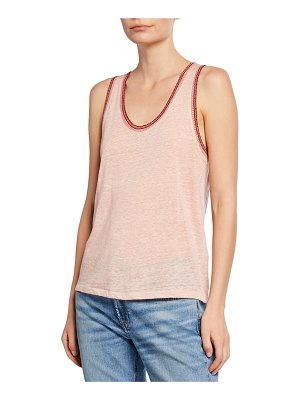 Rag & Bone Molly Scoop-Neck Tank