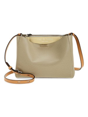 Rag & Bone passenger perforated leather crossbody bag