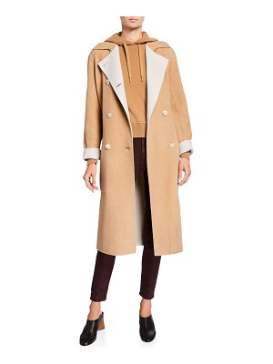 Rag & Bone Rach Reversible Wool Belted Coat