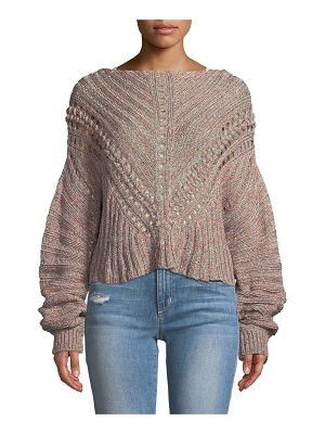 RAG & BONE Roman Chunky Marled-Knit Sweater